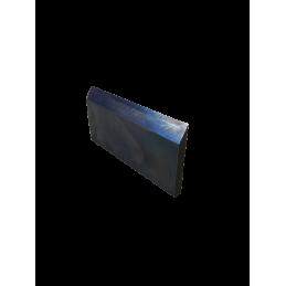 Lame jetable de 124 x 62 x 8 mm pour déchiqueteuses côté