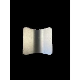 Couteau carré incurvé adaptable avant