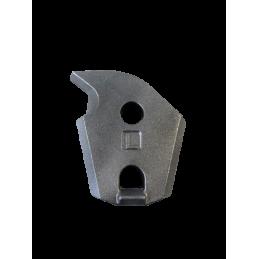 Marteau adaptable réversible avec plaquettes en carbure de tungstène pour broyeurs de pierres