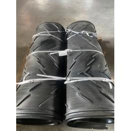 Double tapis avec structure métallique pour convoyeur arrière 430 x 8410 x 1800mm
