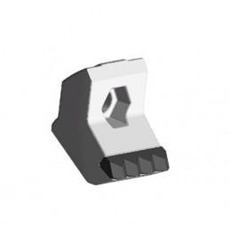 Marteau adaptable cinq pointes pour broyeurs rapides 3D