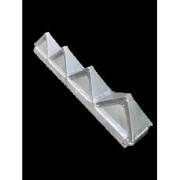 Barre de contre coupe adaptable pour broyeurs lents côté