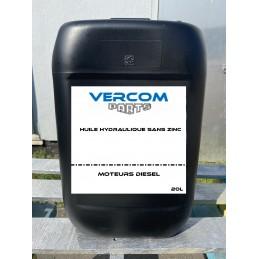 Huile hydraulique sans zinc HV 46 (bidon de 20L)